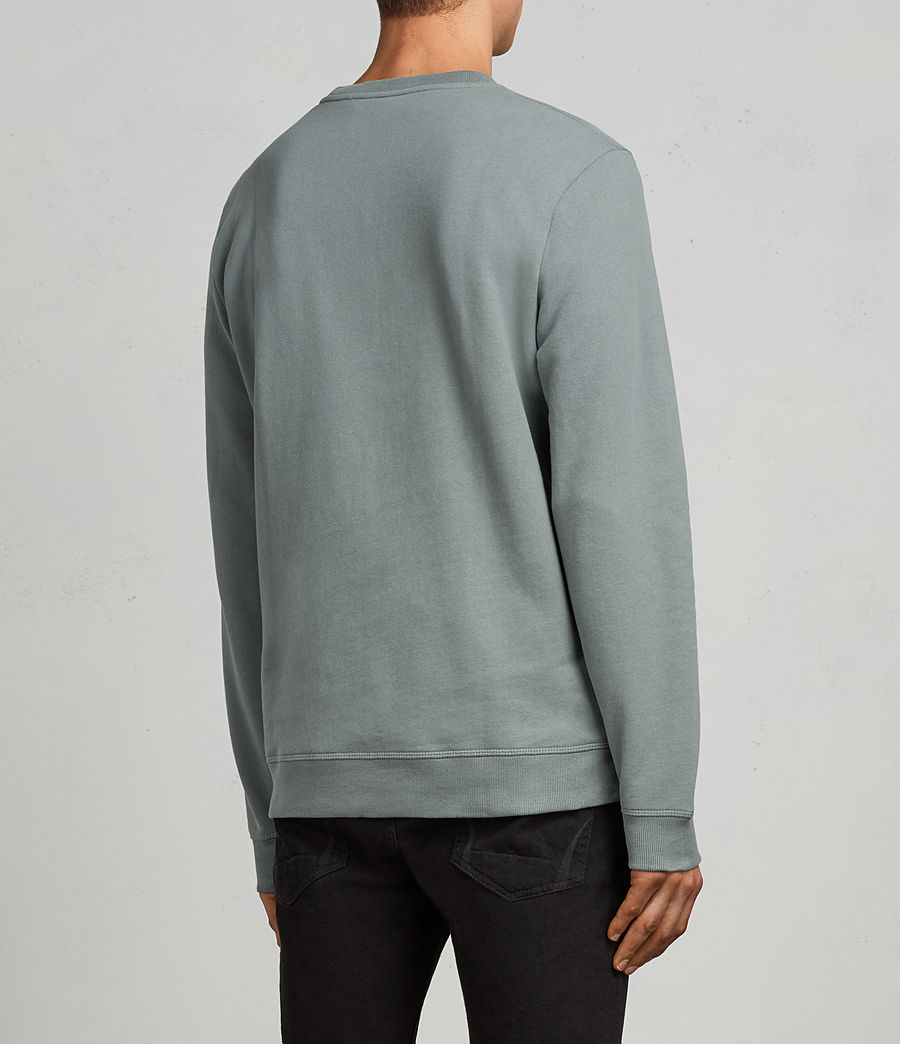 Men's Raven Crew Sweatshirt (larch_green) - Image 4