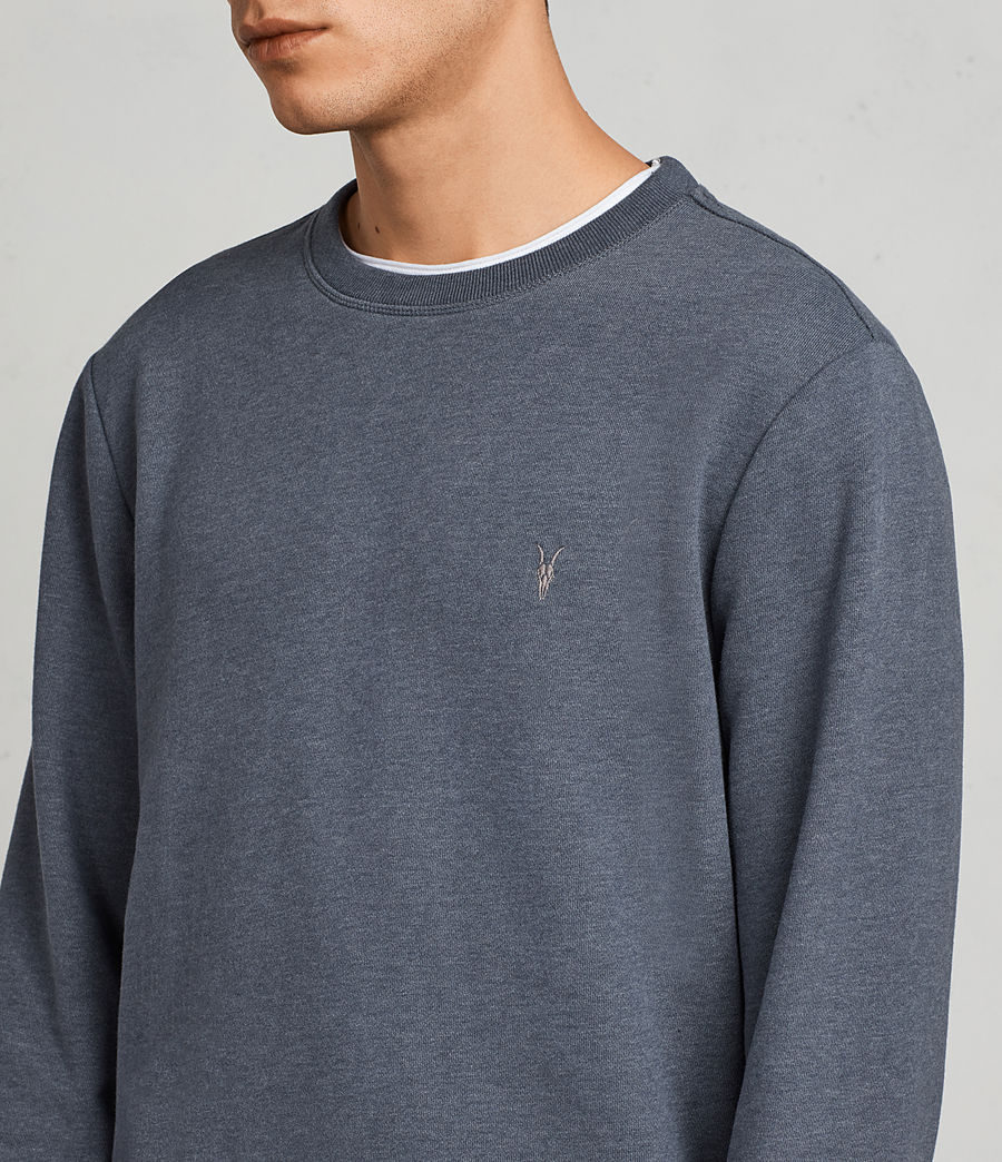 Men's Raven Sweatshirt (washed_navy_marl) - Image 2