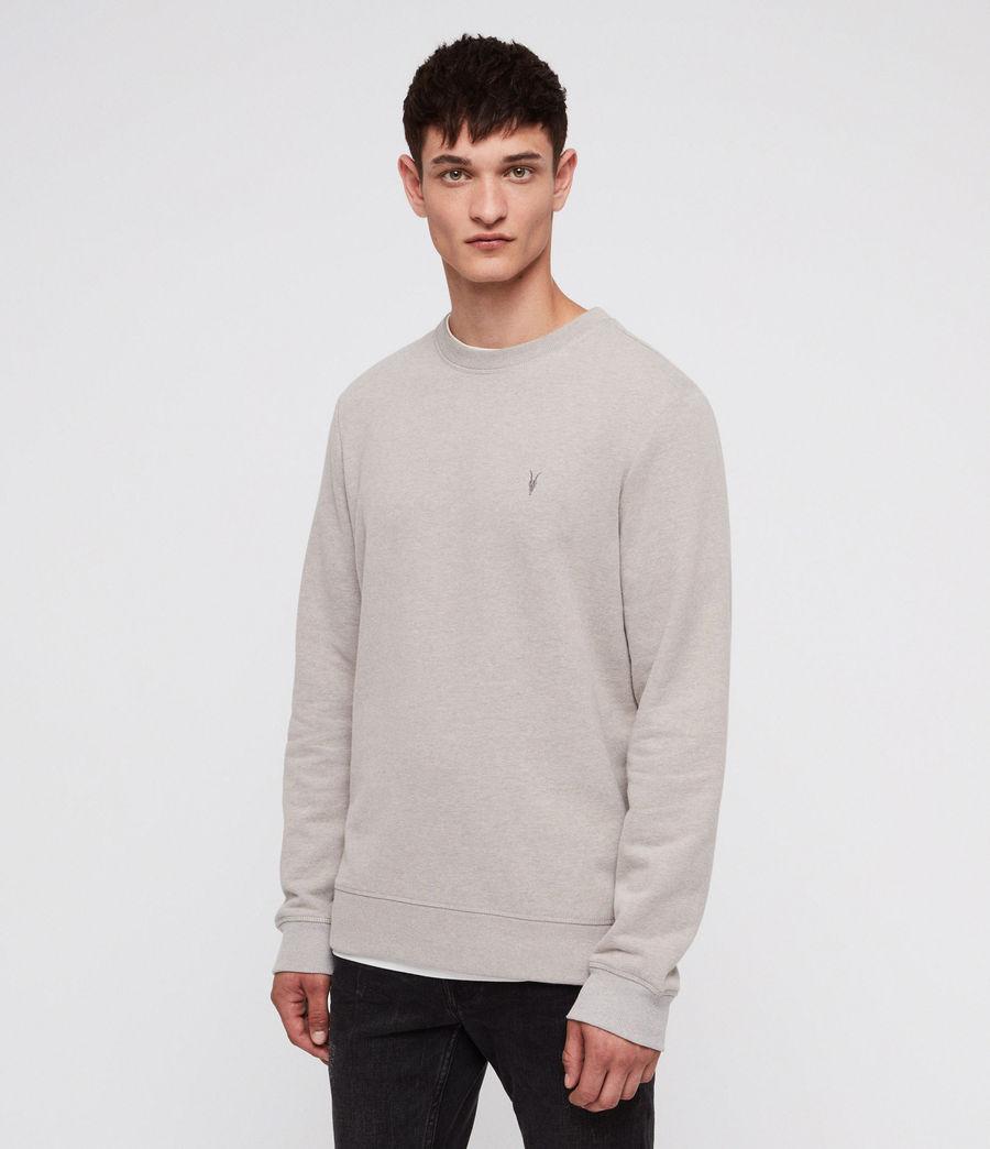 Men's Raven Crew Sweatshirt (mine_grey_marl) - Image 1
