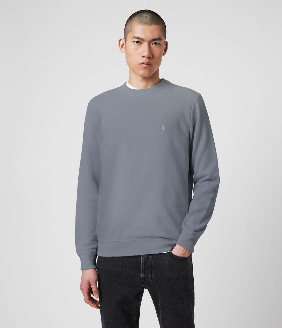 Mens Raven Crew Sweatshirt (ridge_blue_marl) - Image 1