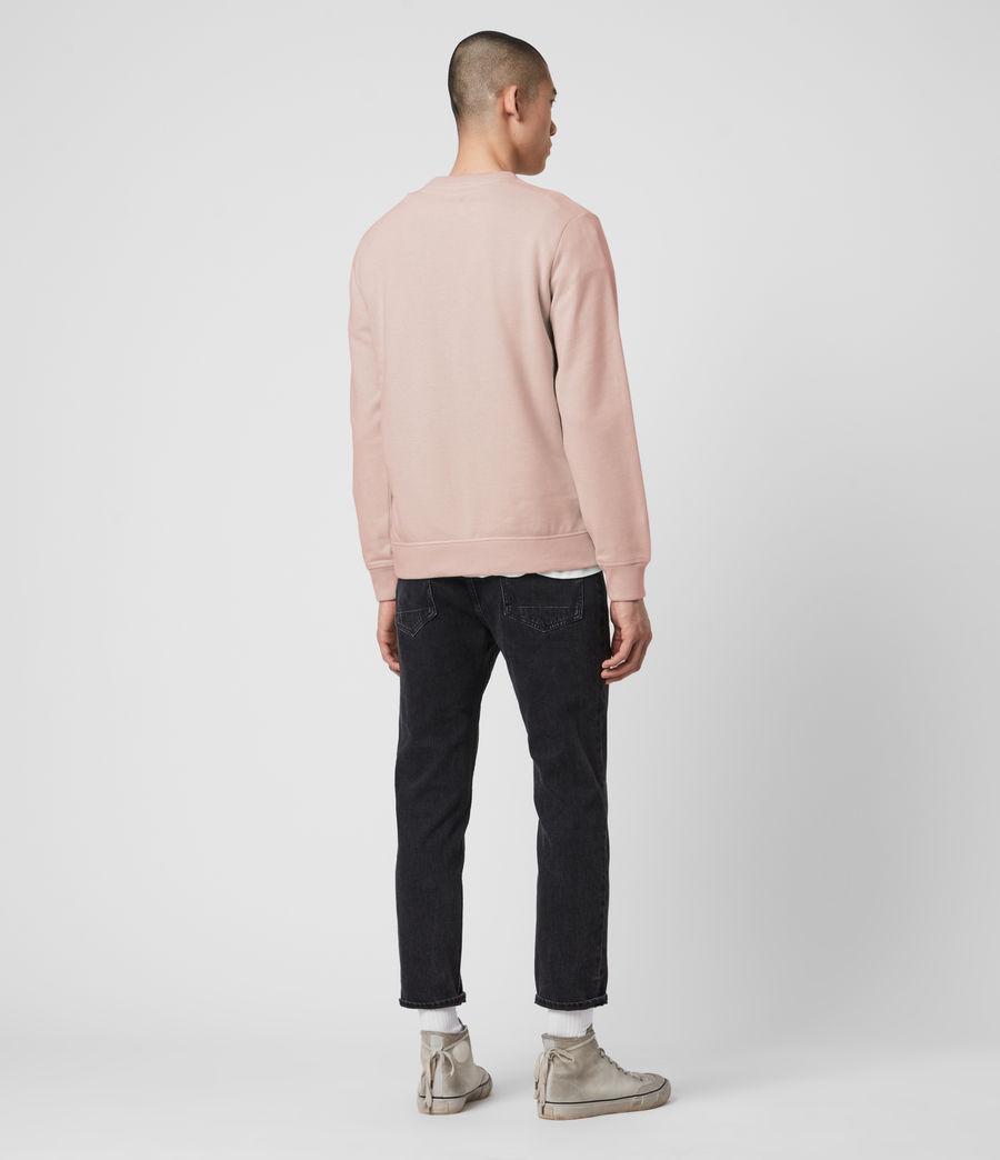 Mens Raven Crew Sweatshirt (sunset_pink_marl) - Image 5