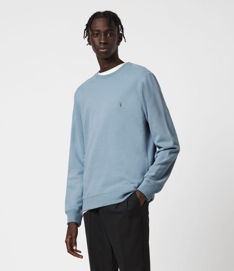 Mens Raven Crew Sweatshirt (ceramic_blue) - Image 1