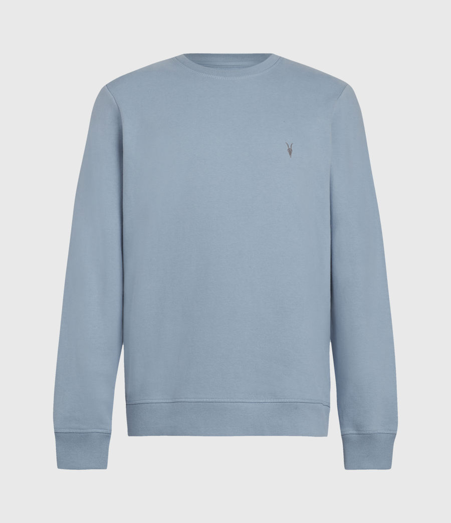 Mens Raven Crew Sweatshirt (ceramic_blue) - Image 2