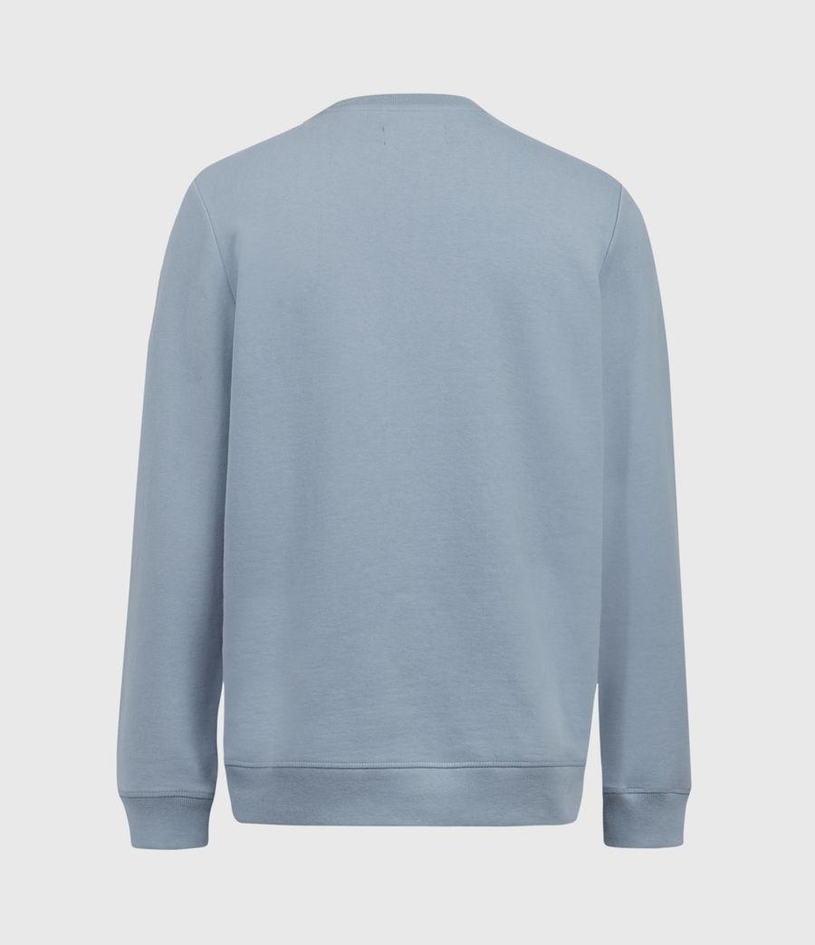 Mens Raven Crew Sweatshirt (ceramic_blue) - Image 3