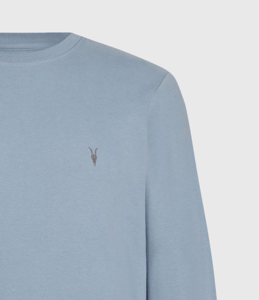 Mens Raven Crew Sweatshirt (ceramic_blue) - Image 4