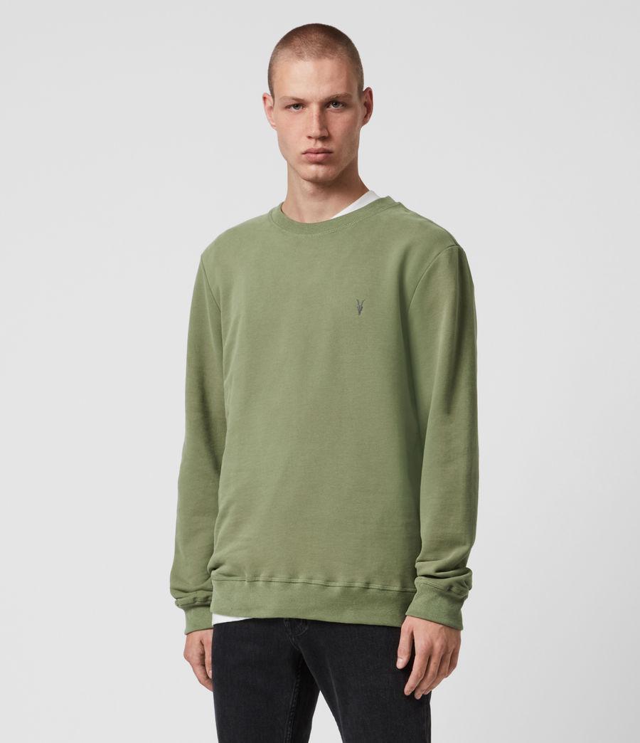Hombre Raven Crew Sweatshirt (aloe_green) - Image 1