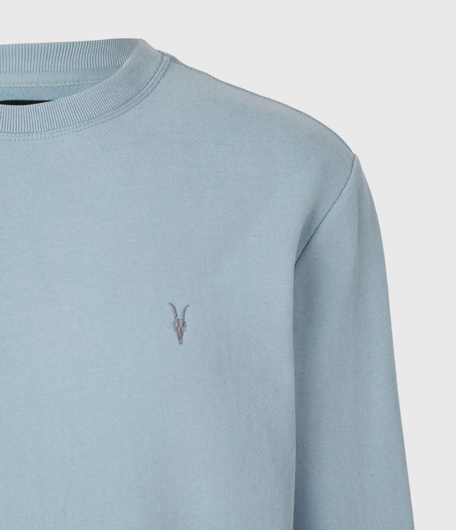 Mens Raven Crew Sweatshirt (force_blue) - Image 4