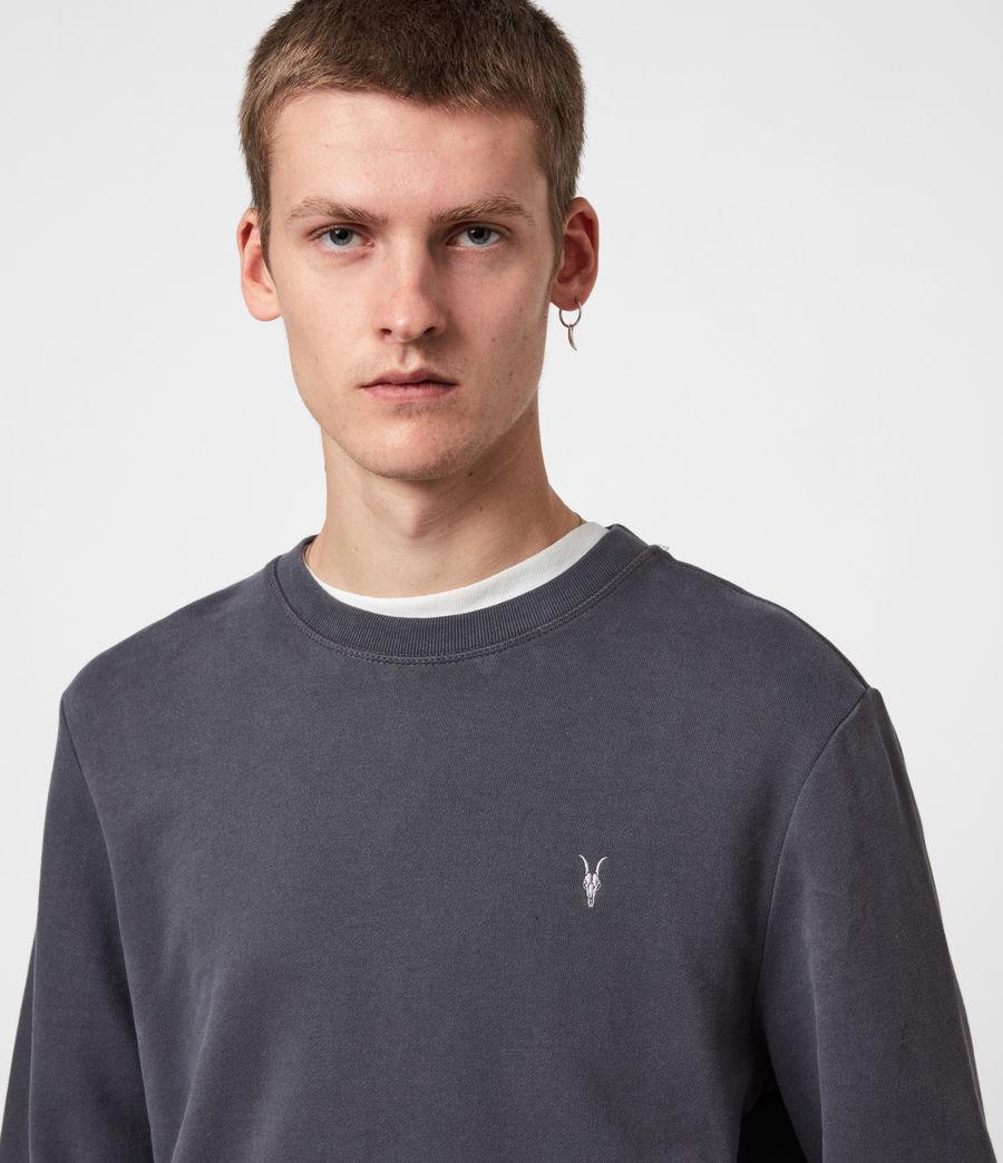 Mens Raven Crew Sweatshirt (aster_blue) - Image 4