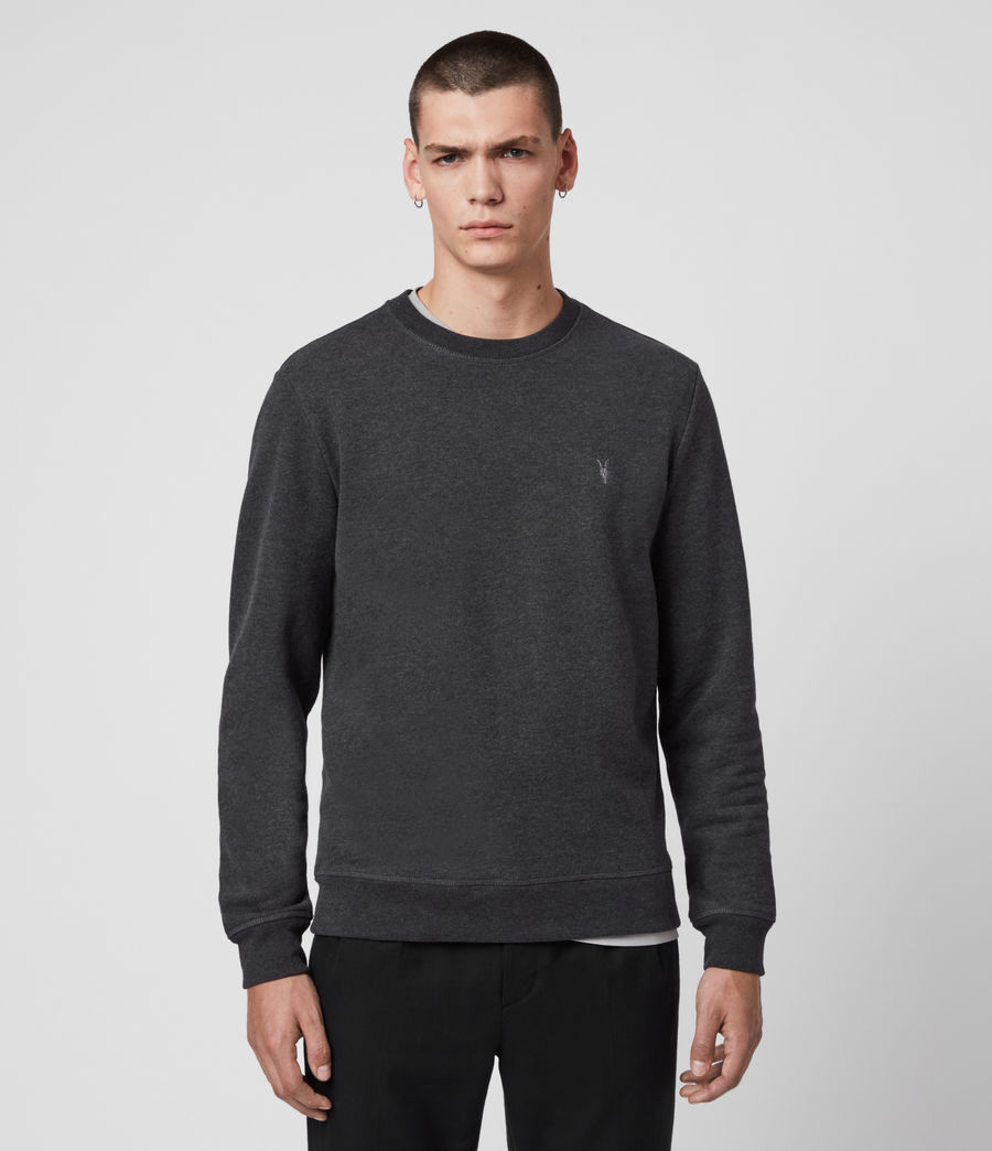 Hommes Sweat Raven (black) - Image 4