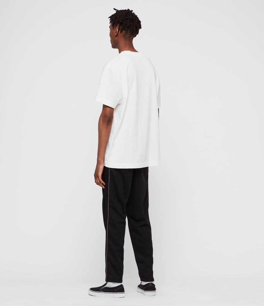 Men's Jasper Relaxed Trousers (jet_black_sheal) - Image 5
