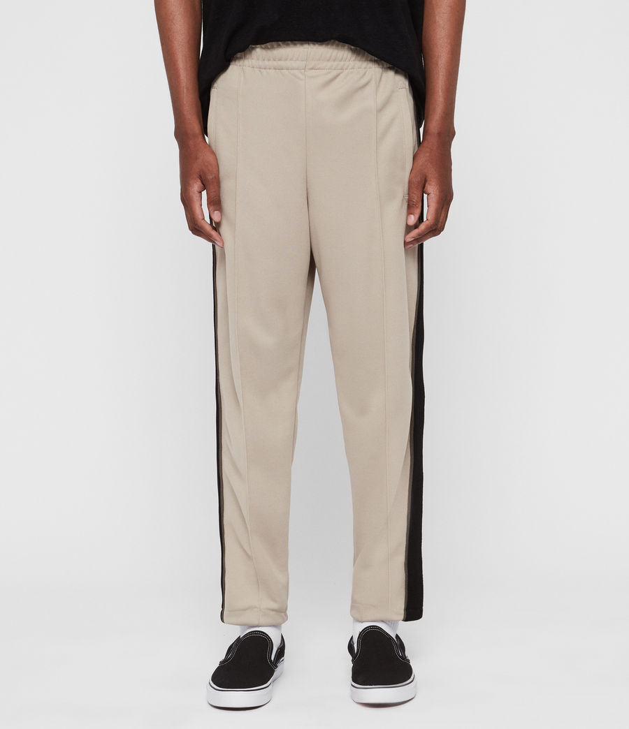 Men's Jasper Relaxed Trousers (putty_brown_green) - Image 3