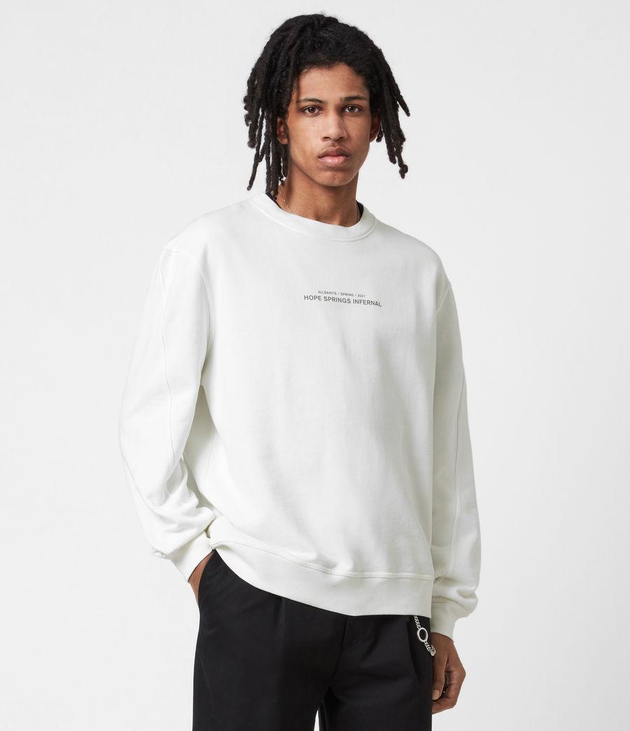 Men's Hadean Crew Sweatshirt (natural_ecru) - Image 1