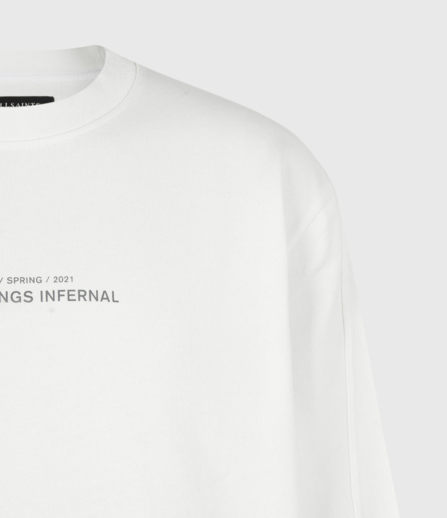 Men's Hadean Crew Sweatshirt (natural_ecru) - Image 5