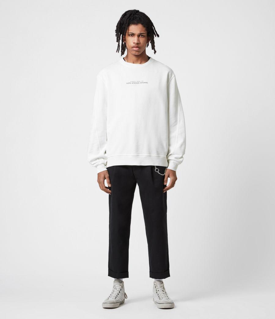 Men's Hadean Crew Sweatshirt (natural_ecru) - Image 7