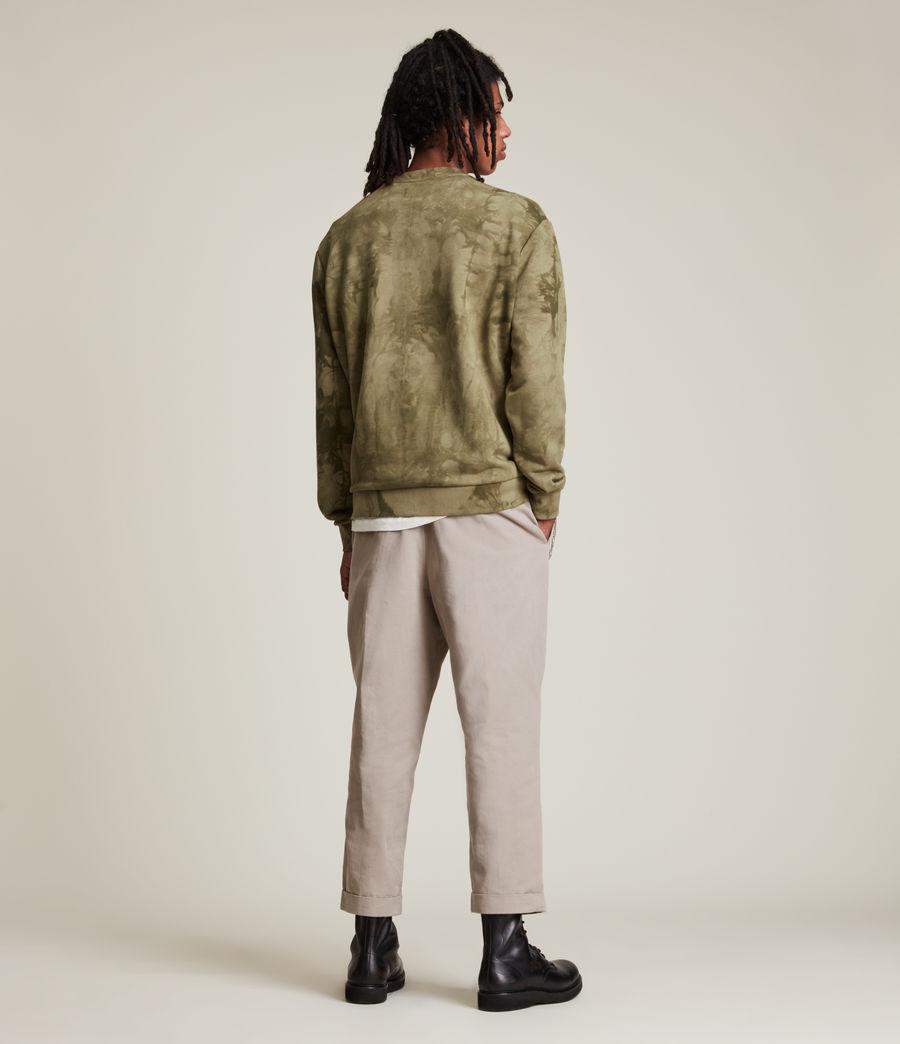 Men's Clay Tie Dye Crew Sweatshirt (sandalwood_brown) - Image 5