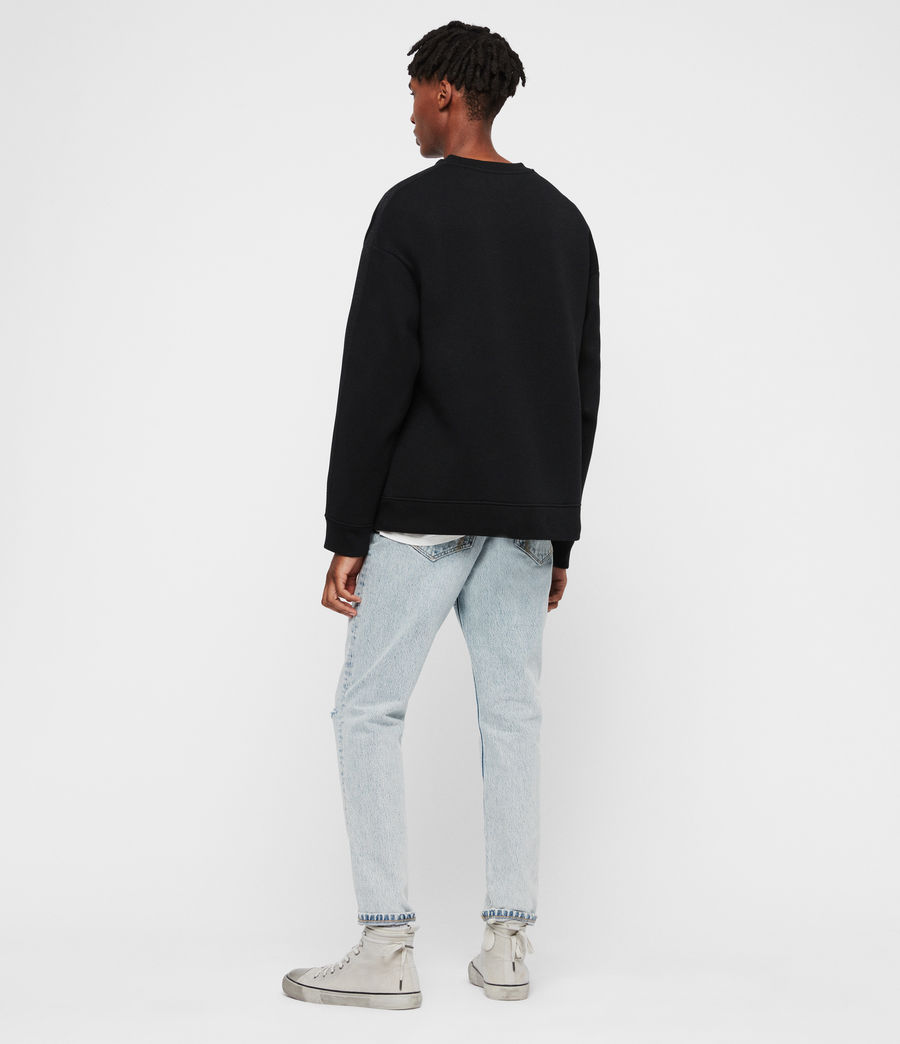 Men's Hayford Crew Sweatshirt (black) - Image 5