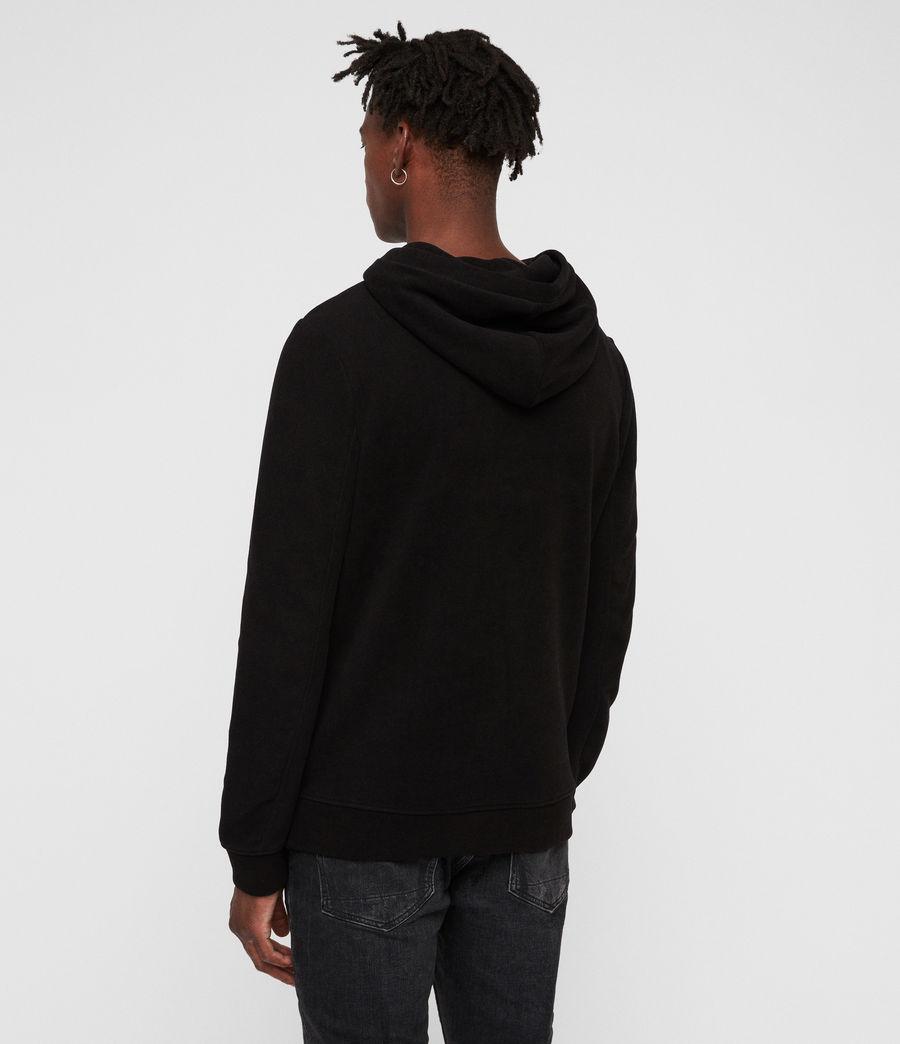 Men's Theo Pullover Hoodie (black) - Image 5