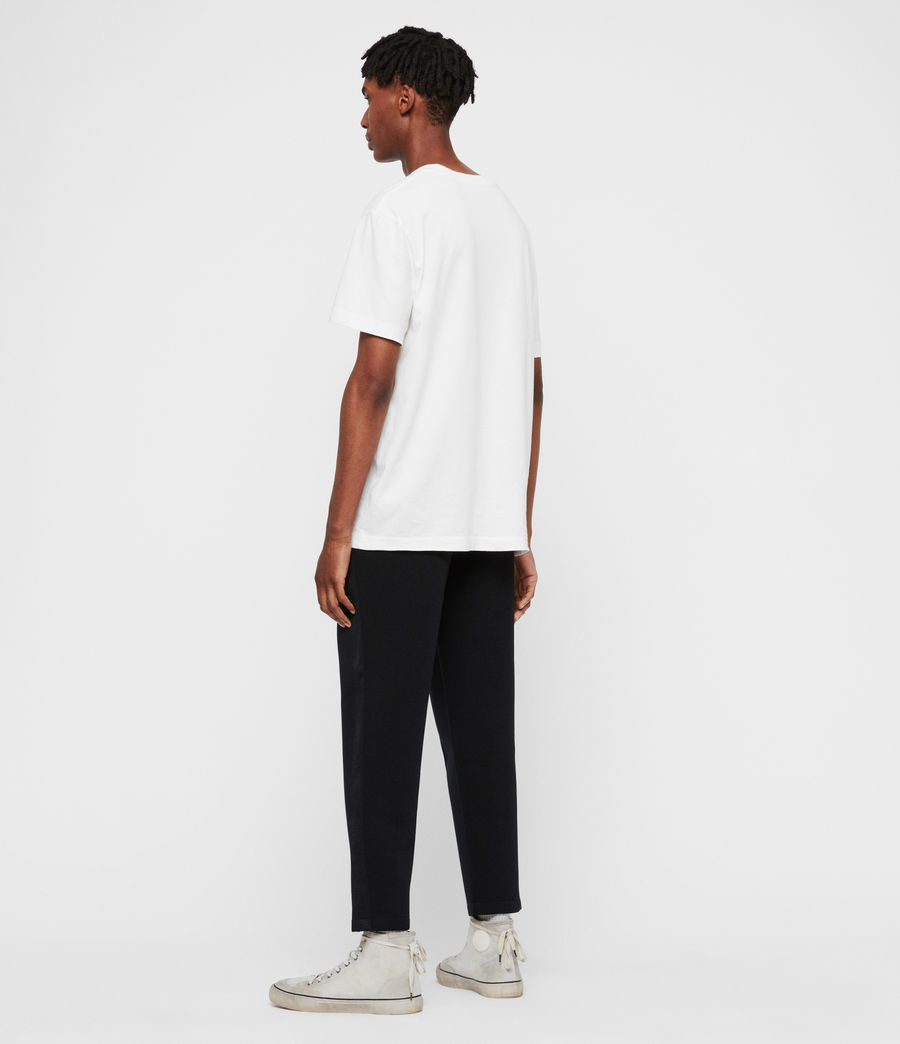 Men's Hayford Cropped Tapered Sweatpants (black) - Image 5