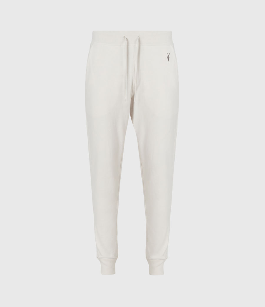 Mens Raven Cuffed Slim Sweatpants (oyster) - Image 2