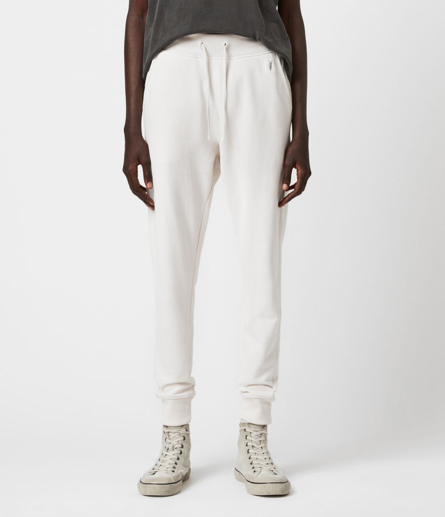 Mens Raven Cuffed Slim Sweatpants (oyster) - Image 4