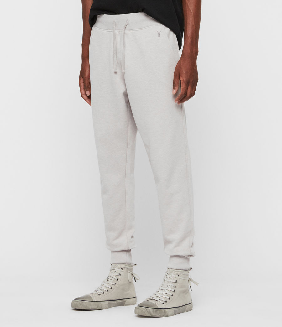 Hombres Raven Cuffed Slim Sweatpants (cocoa_brown_marl) - Image 4