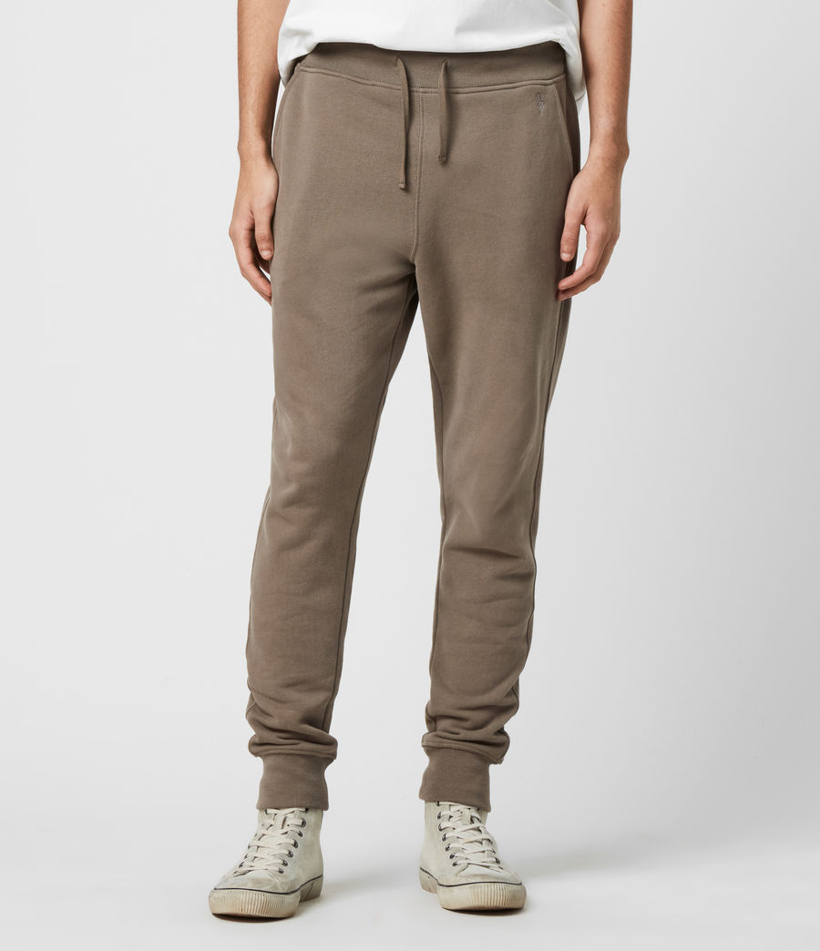 Men's Raven Cuffed Slim Sweatpants (taupe_marl) - Image 1