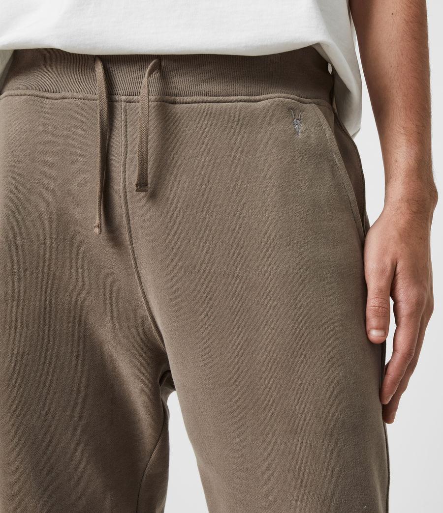 Mens Raven Cuffed Slim Sweatpants (pebble_grey) - Image 2