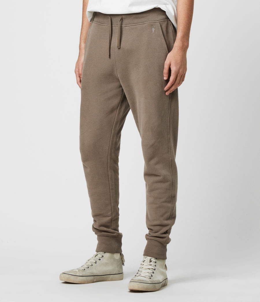 Men's Raven Cuffed Slim Sweatpants (taupe_marl) - Image 4