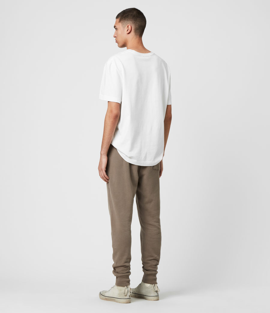Men's Raven Cuffed Slim Sweatpants (taupe_marl) - Image 5