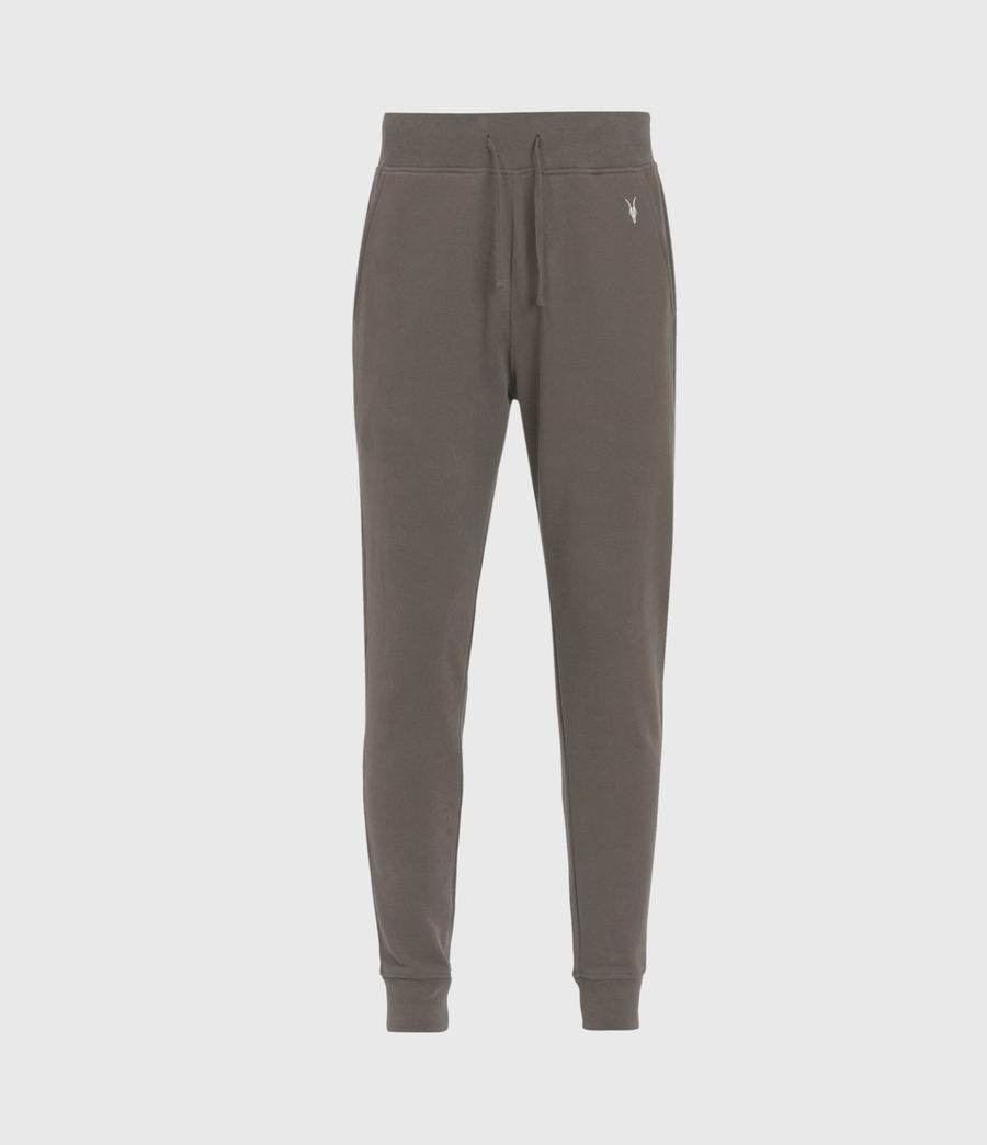 Mens Raven Cuffed Slim Sweatpants (washed_khaki_brown) - Image 2