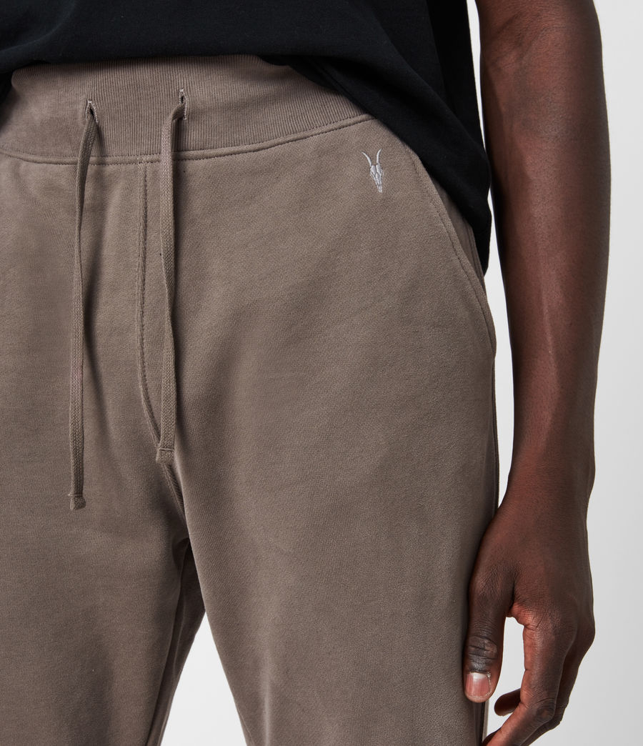 Mens Raven Cuffed Slim Sweatpants (washed_khaki_brown) - Image 6