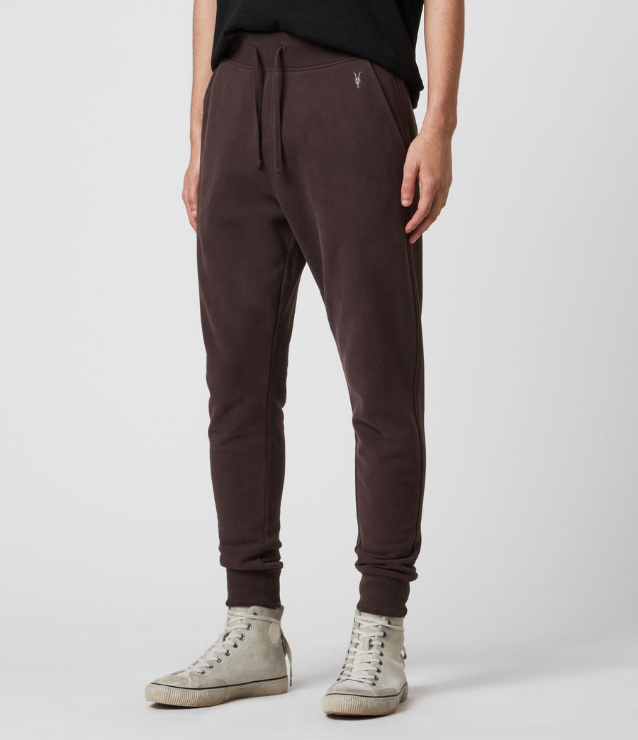Mens Raven Cuffed Slim Sweatpants (ink_navy) - Image 4
