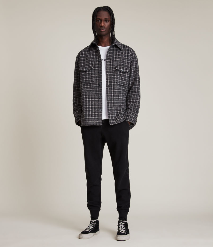 Hombres Raven Cuffed Slim Sweatpants (cocoa_brown_marl) - Image 1