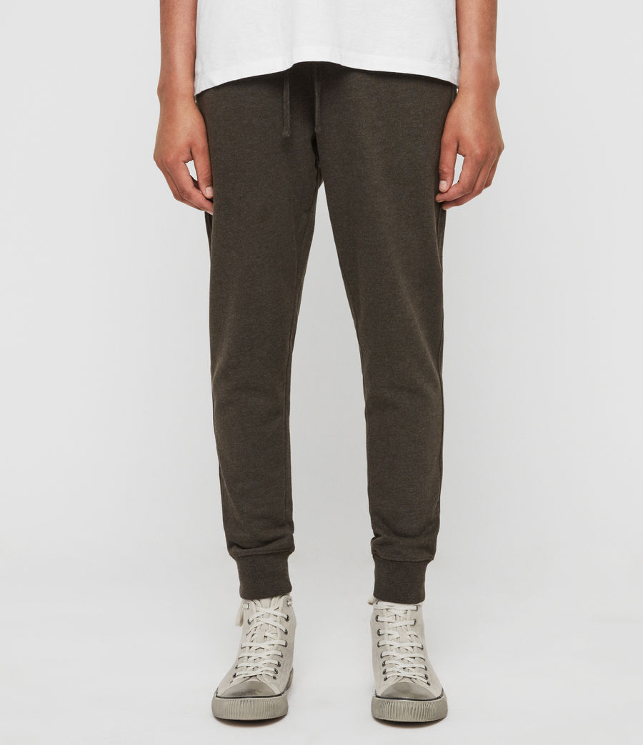 Men's Raven Cuffed Slim Sweatpants (cocoa_brown_marl) - Image 1