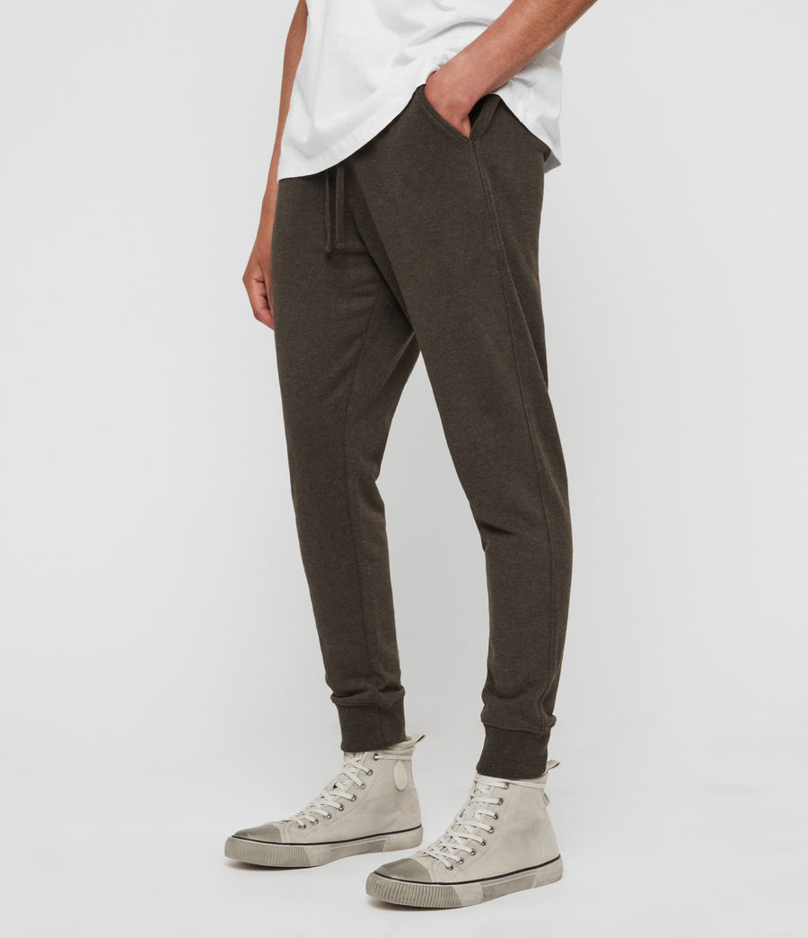 Men's Raven Cuffed Slim Sweatpants (cocoa_brown_marl) - Image 2