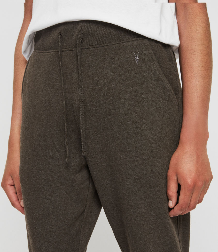 Herren Raven Cuffed Slim Sweatpants (cocoa_brown_marl) - Image 4