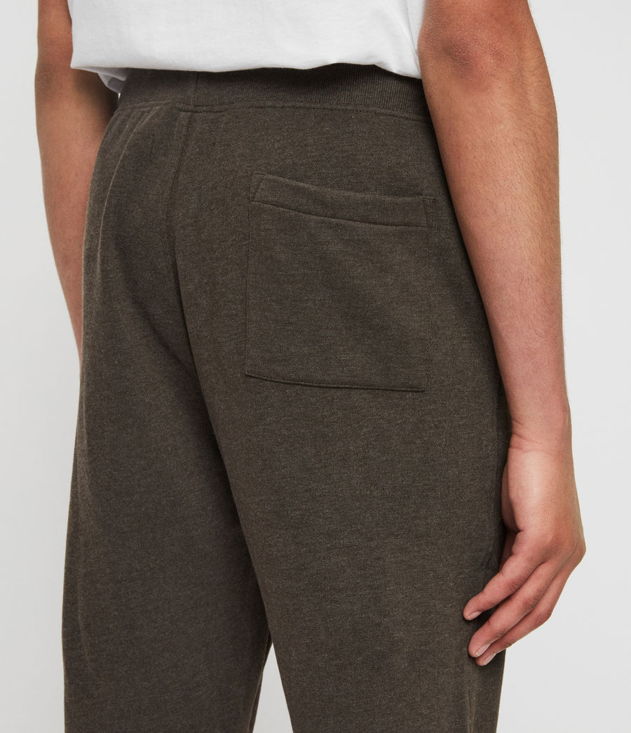 Men's Raven Cuffed Slim Sweatpants (cocoa_brown_marl) - Image 5