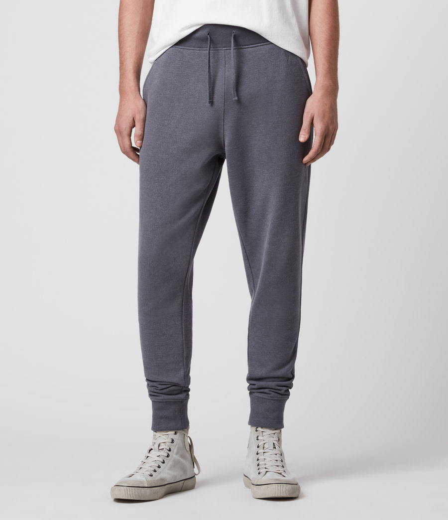 Hombre Raven Cuffed Slim Sweatpants (ridge_blue_marl) - Image 1