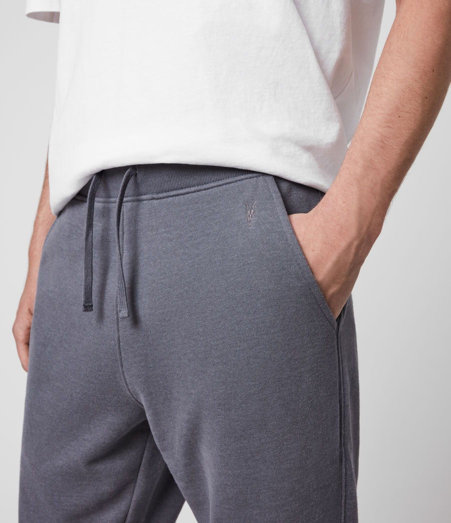 Hombre Raven Cuffed Slim Sweatpants (ridge_blue_marl) - Image 2