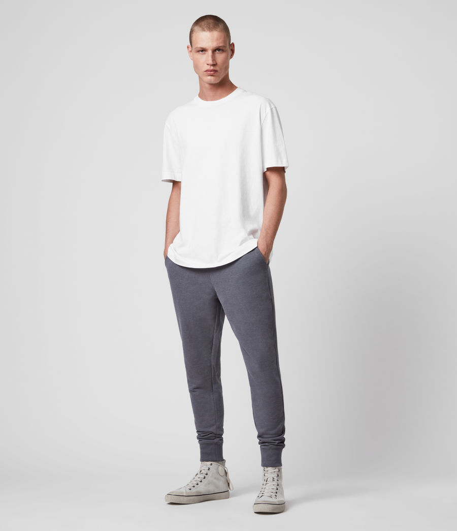 Hombre Raven Cuffed Slim Sweatpants (ridge_blue_marl) - Image 3
