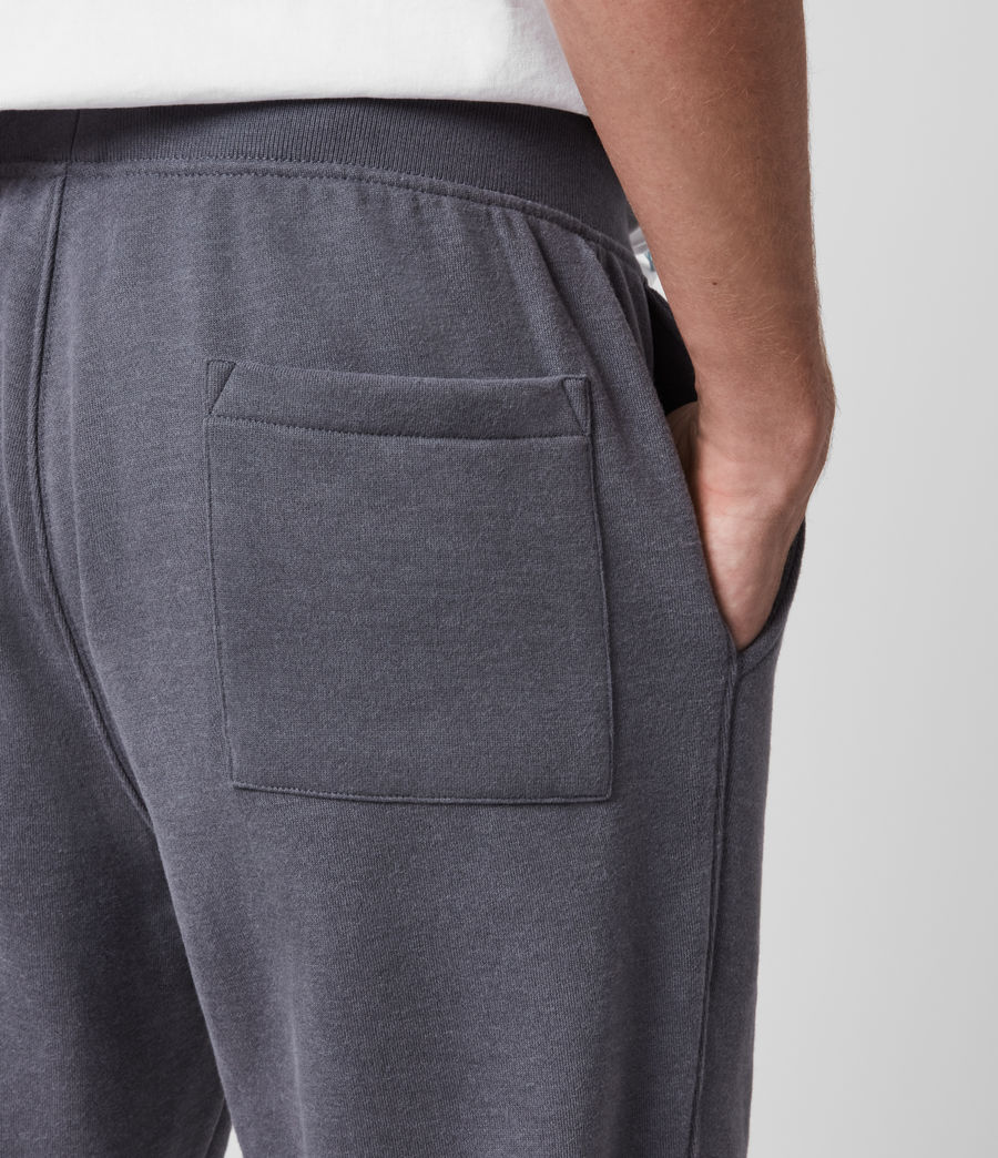 Hombre Raven Cuffed Slim Sweatpants (ridge_blue_marl) - Image 4