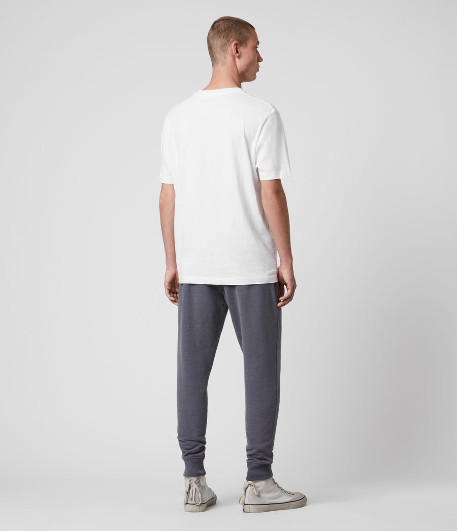 Hombre Raven Cuffed Slim Sweatpants (ridge_blue_marl) - Image 5