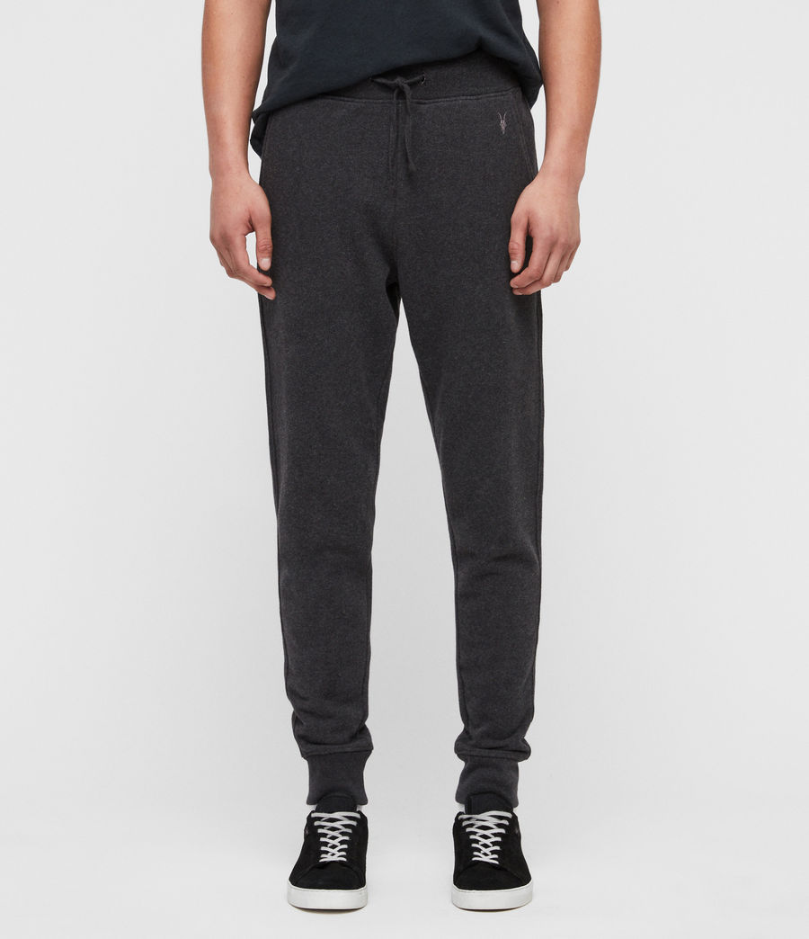 Mens Raven Cuffed Slim Sweatpants (charcoal_marl) - Image 1