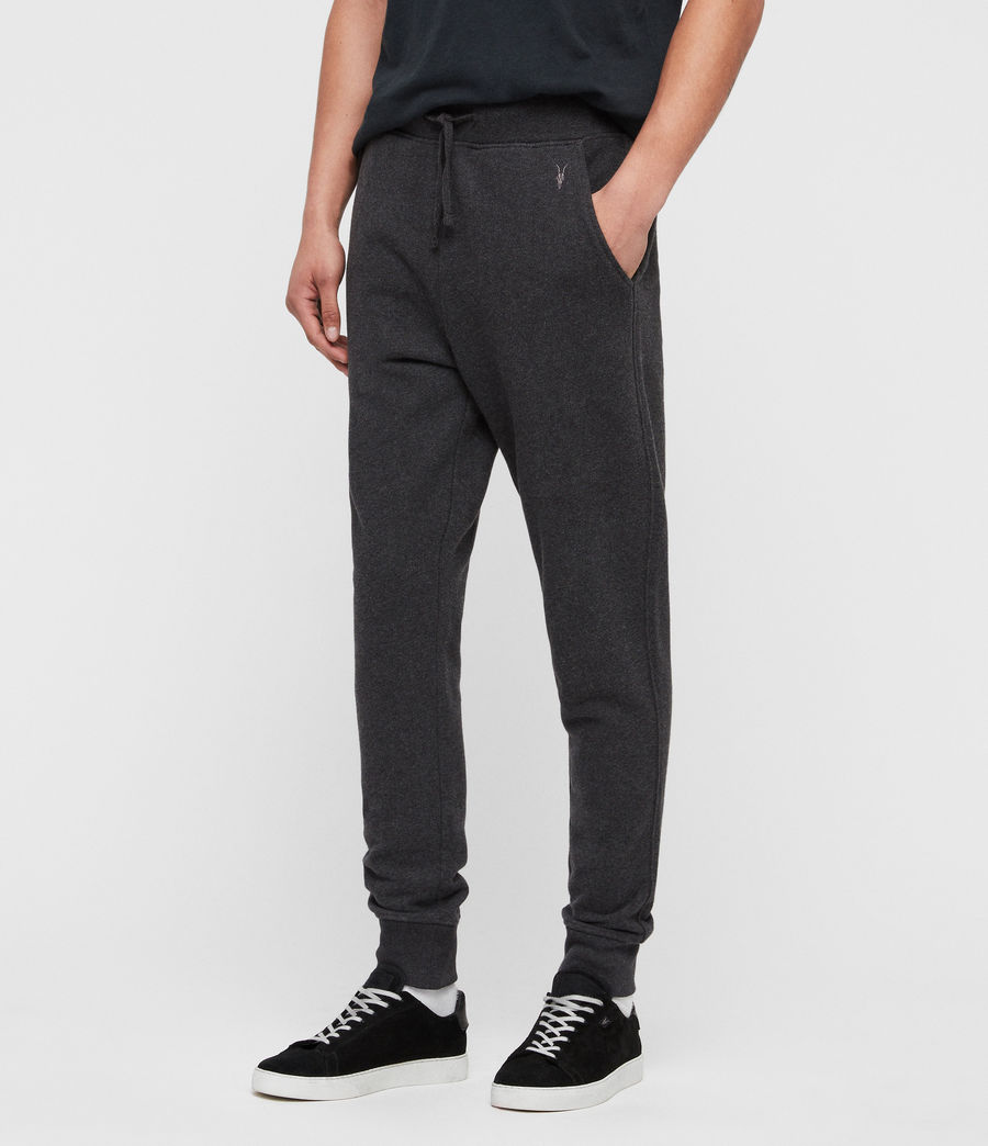Men's Raven Cuffed Slim Sweatpants (pebble_grey) - Image 5