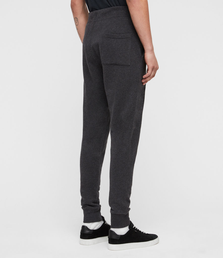 Mens Raven Cuffed Slim Sweatpants (charcoal_marl) - Image 6