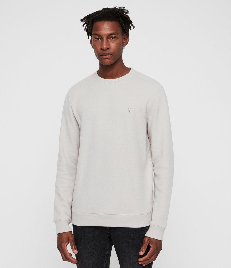 Mens Theo Crew Sweatshirt (lunar_grey) - Image 1