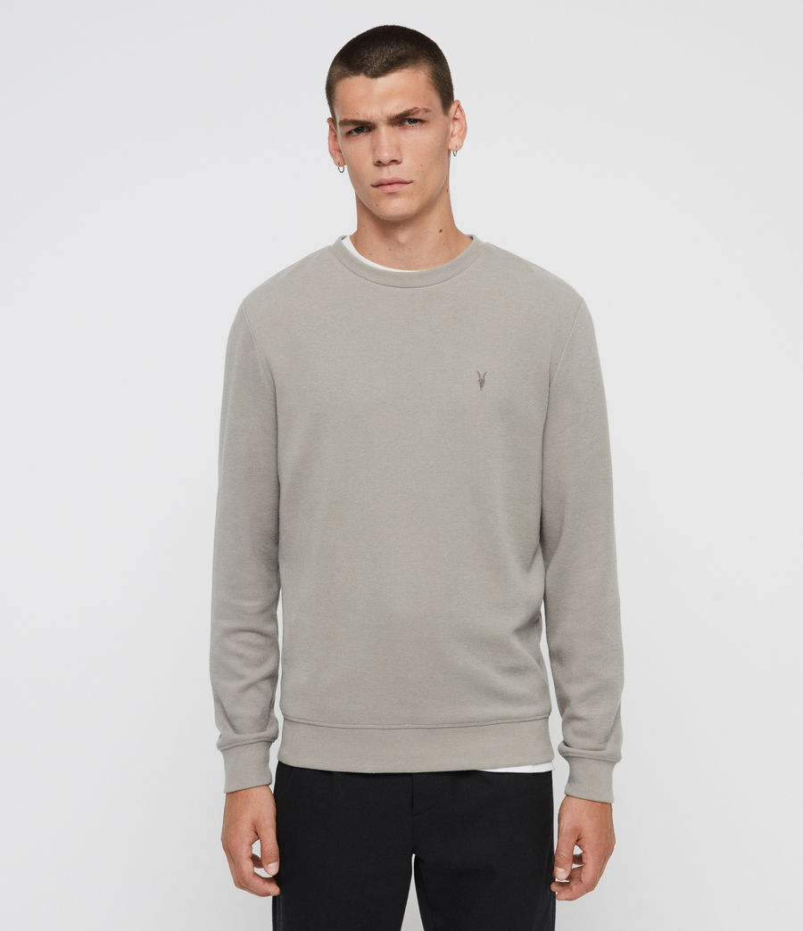 Men's Theo Crew Sweatshirt (cement_grey) - Image 1