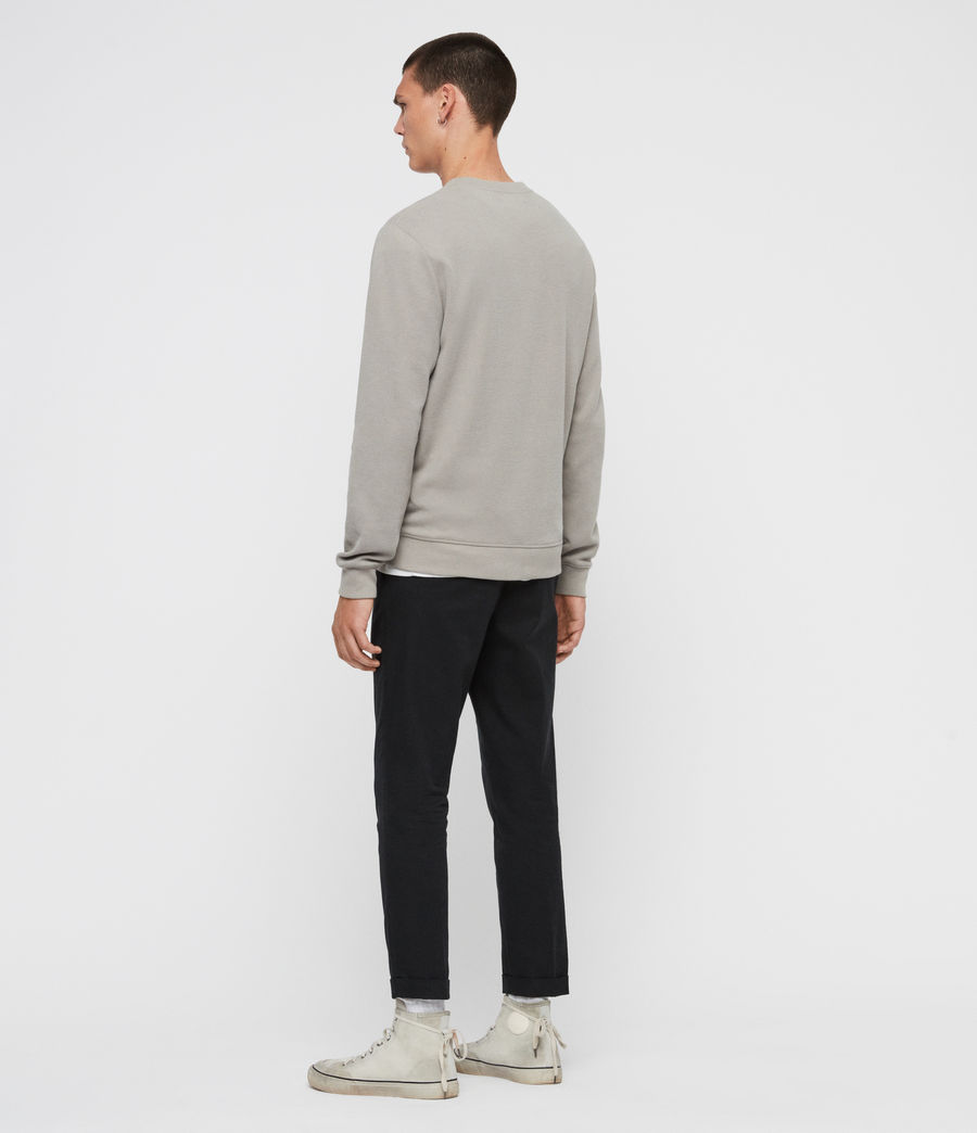 Men's Theo Crew Sweatshirt (cement_grey) - Image 5