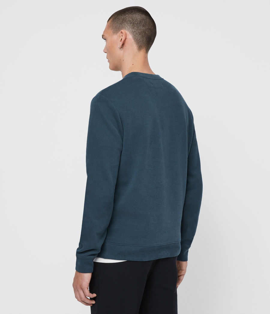 Hombres Sudadera Theo (teal_blue) - Image 5