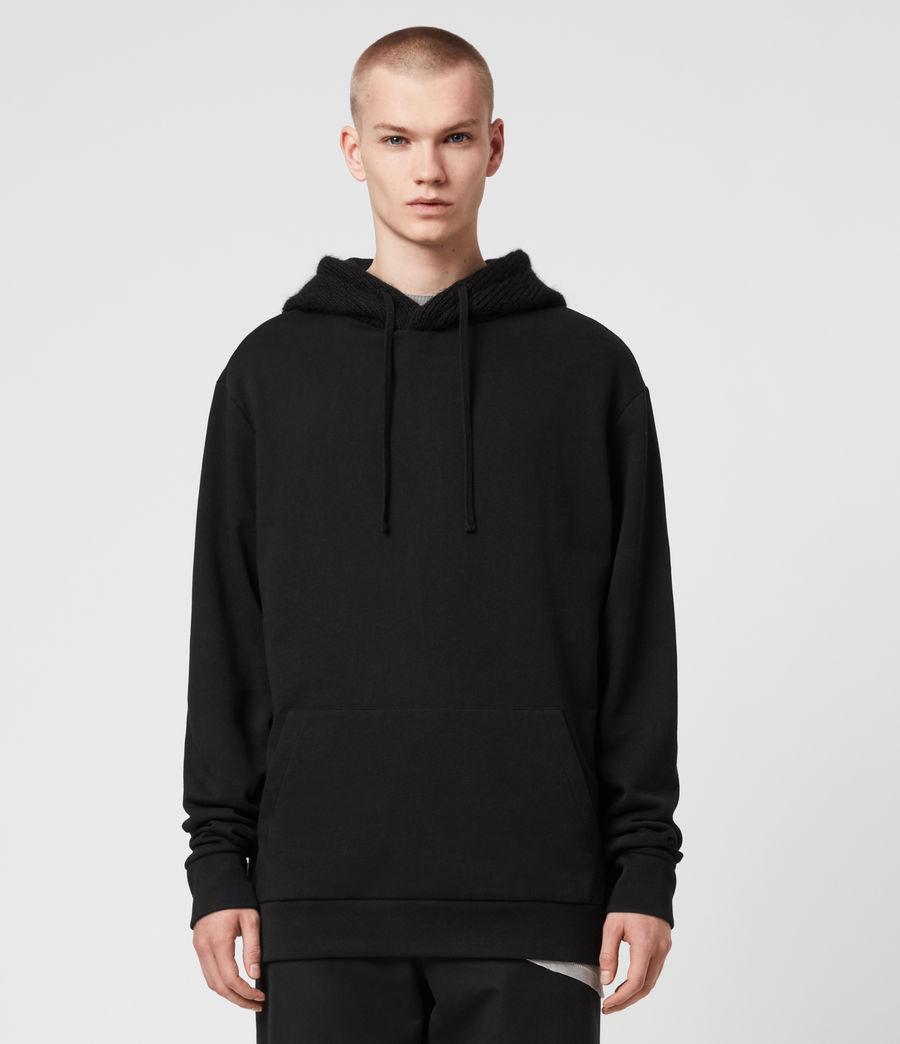Men's Cicero Pullover Hoodie (jet_black) - Image 1